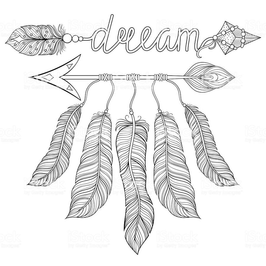 Download Dream Catcher Coloring Pages Clipart Book Dreamcatcher Mandala