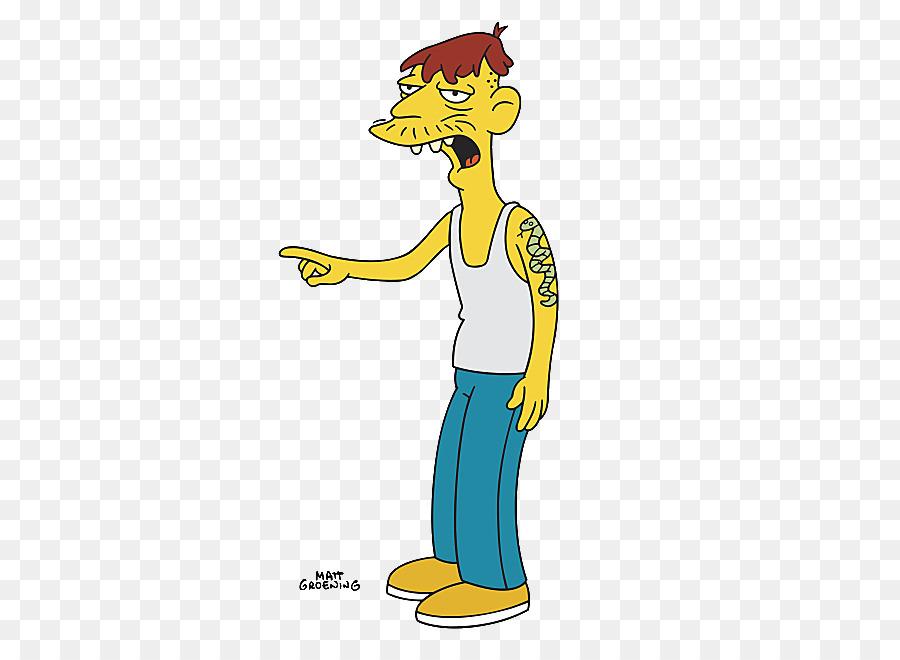 simpsons characters clipart Cletus Spuckler Homer Simpson Maggie Simpson