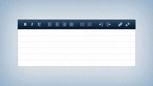 Download text editor ui kit clipart Text editor Image editing