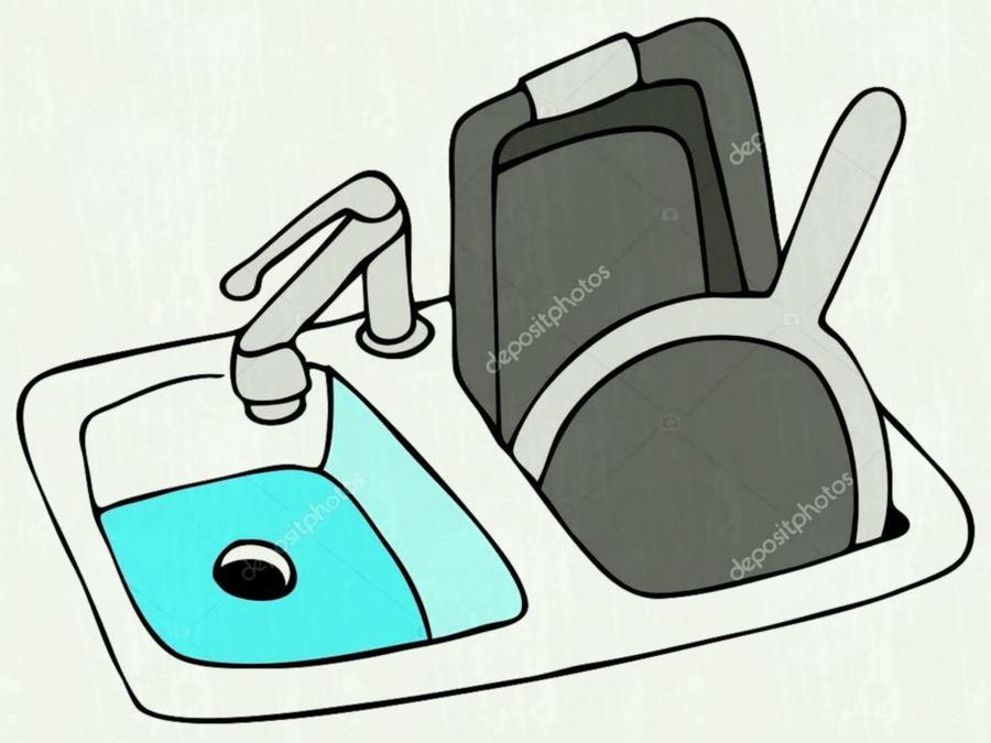 Download kitchen sink clipart Sink Kitchen Clip art   Kitchen ...
