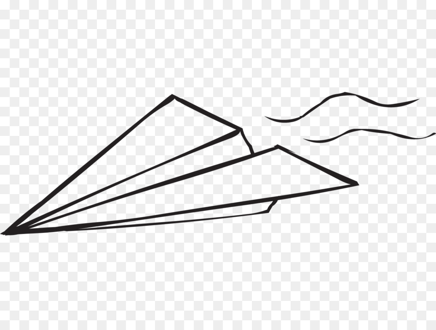 Paper Airplane Clipart Airplane Paper Line Transparent Clip Art