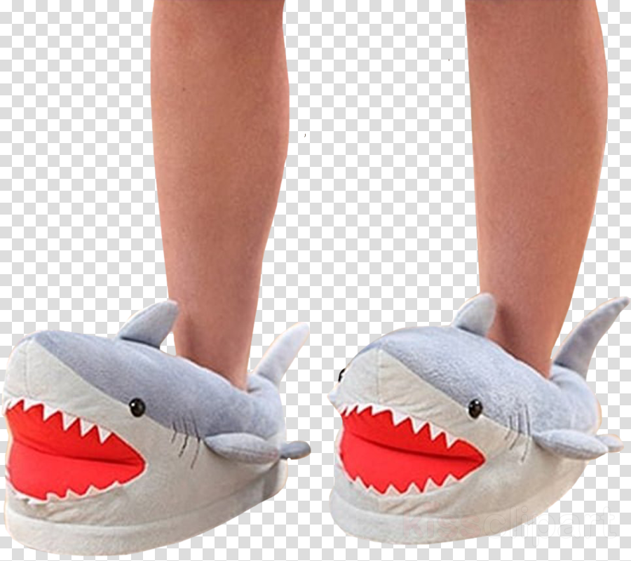 chomping shark plush slippers clipart Chomping Shark Plush Slippers Chomping Shark Plush Slippers