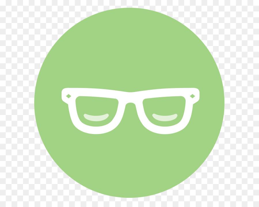 Sunglasses Cartoon Clipart Emoticon Smiley Green