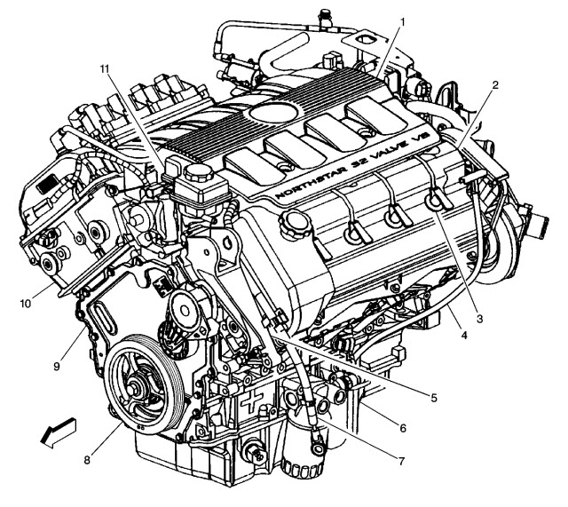 2001 North Star Engine Diagram
