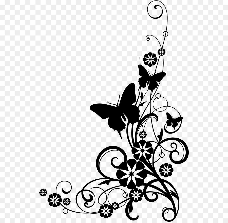 Download Black And White Flower Clipart Flower Clip Art Flower