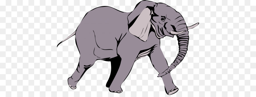 custom african elephant shower curtain clipart African bush elephant Clip art
