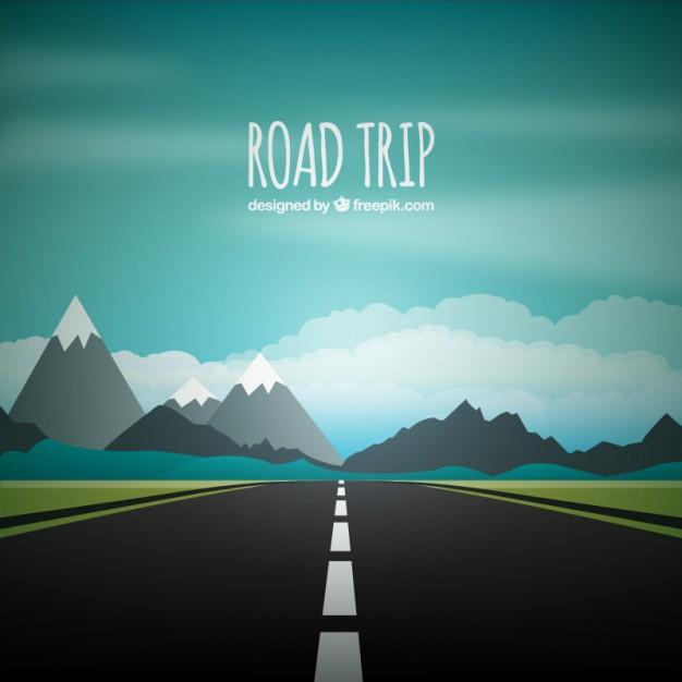 road trip graphic clipart Road trip Clip art