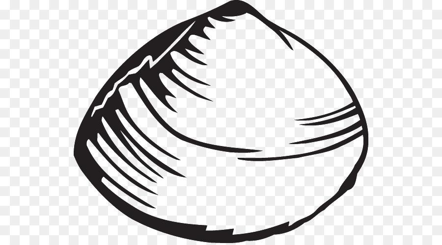 Shellfish clipart Clam Seashell Clip art