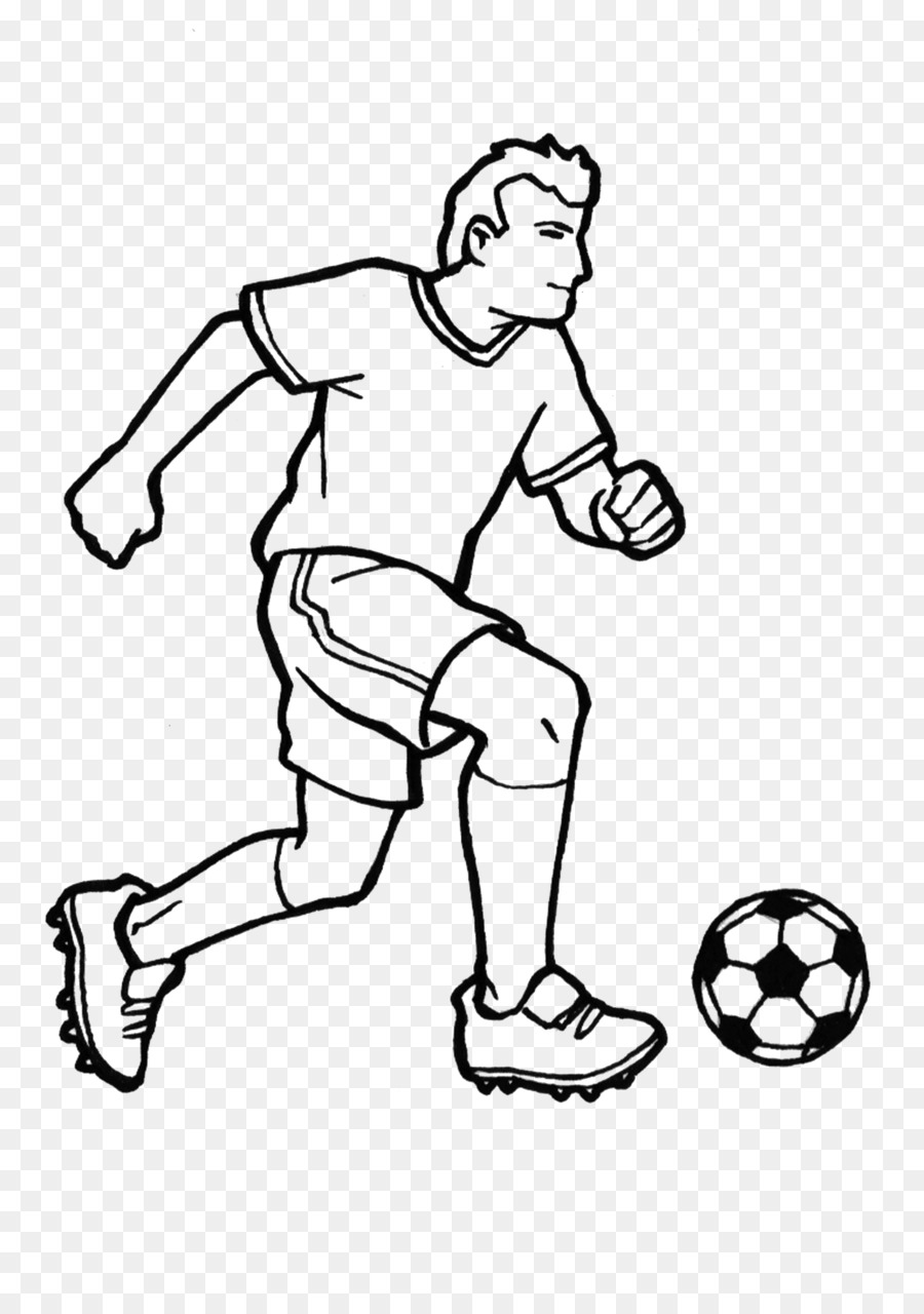 Book Black And White Clipart Football Drawing White