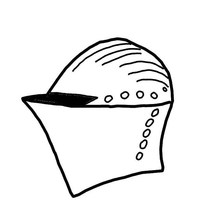 download knights helmet template clipart helmet knight clip art