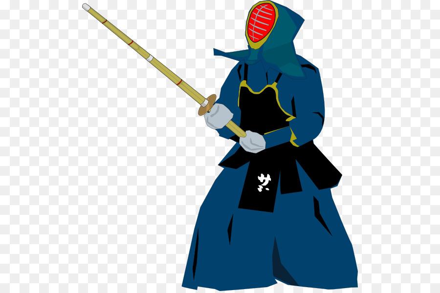 kendo clipart Kendo Kenjutsu Clip art