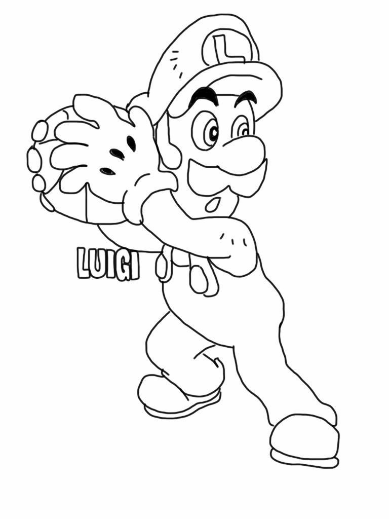 Download Luigi Para Colorear Clipart Luigi Mario Bros