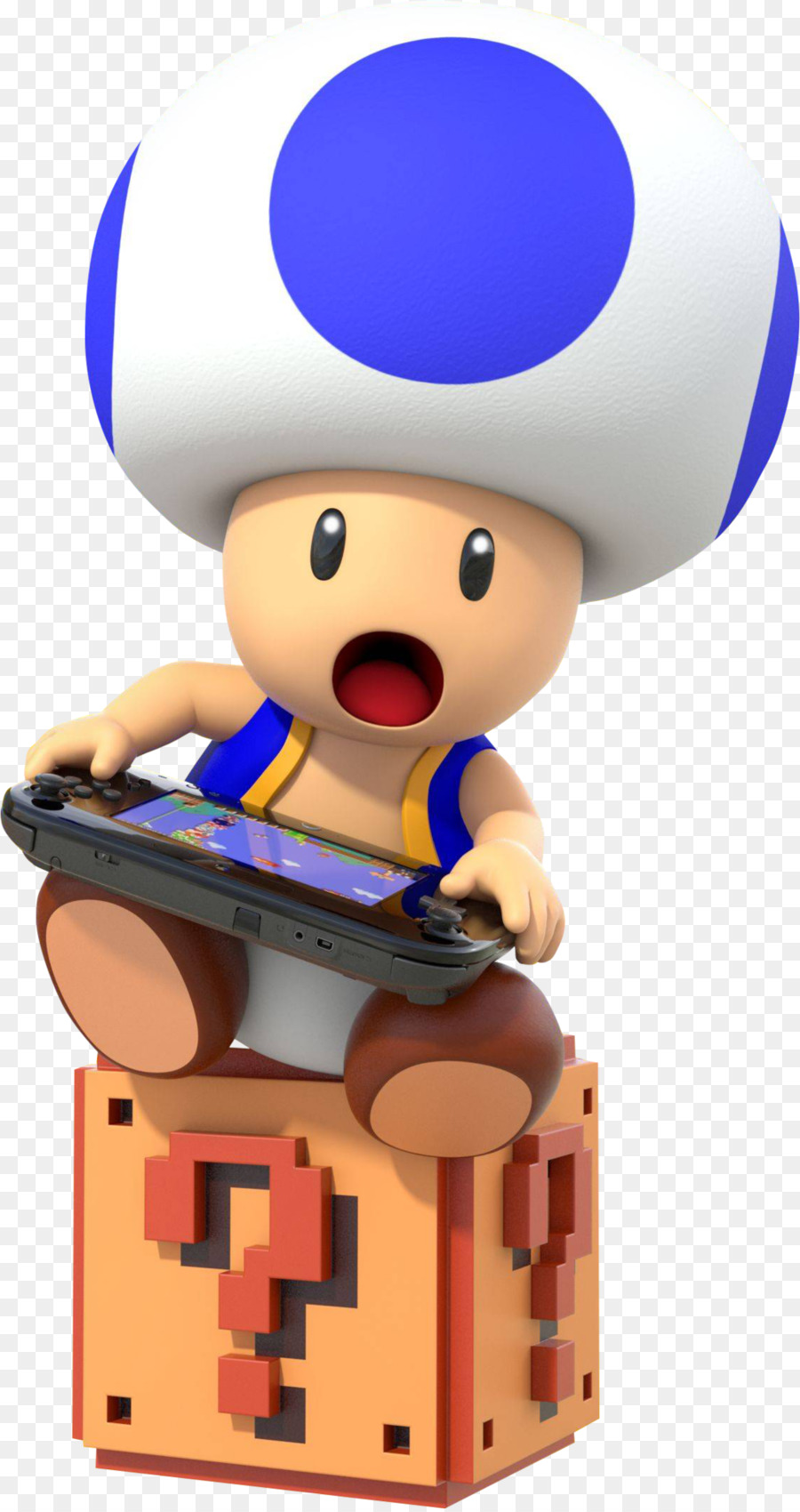 yellow toad and blue toad clipart Super Mario Maker Toad