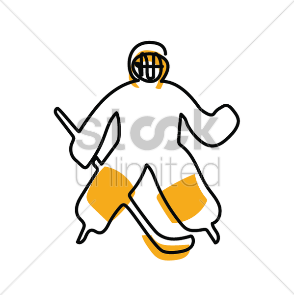 Hockey Sports Yellow Transparent Image Clipart Free Download