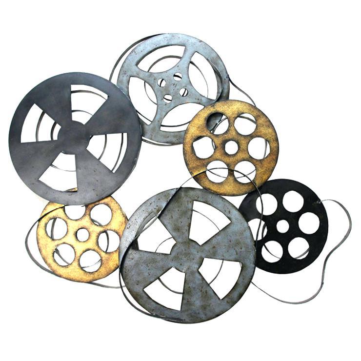 movie reels decorations