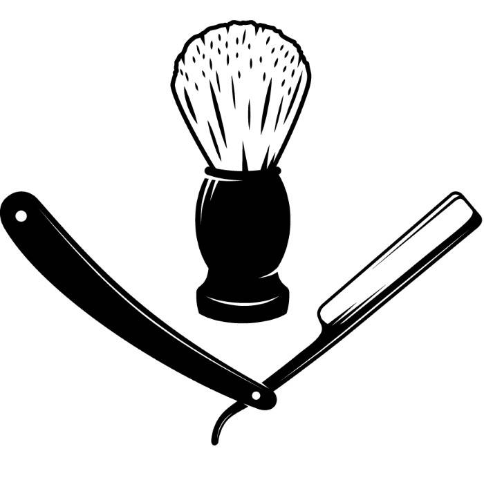 barber clippers svg - 700×695