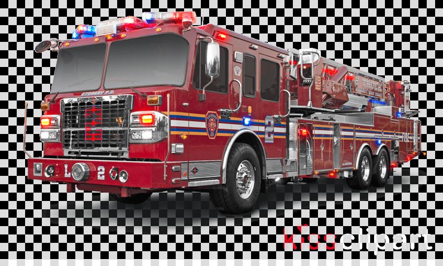 spartan ladder truck clipart Fire engine Fire department Car