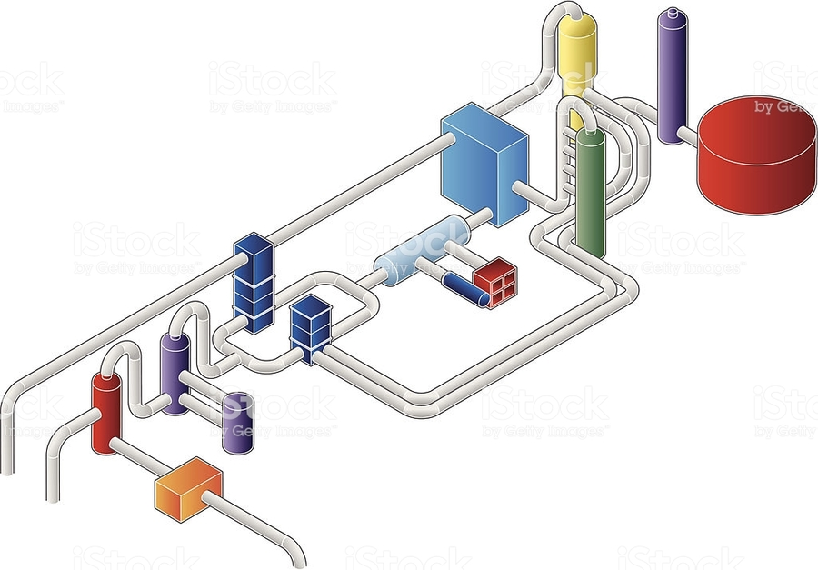 Download Isometric Pipe Vector Clipart Isometric Projection Pipe