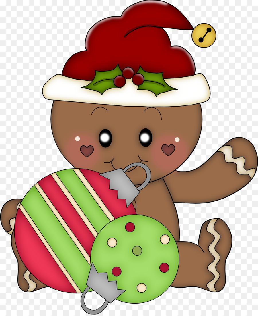 Christmas Gingerbread House Cartoon.Christmas Gingerbread Man Clipart Illustration Christmas