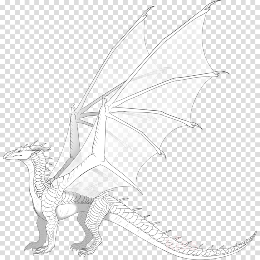 Dragon clipart Dragon Drawing Sketch