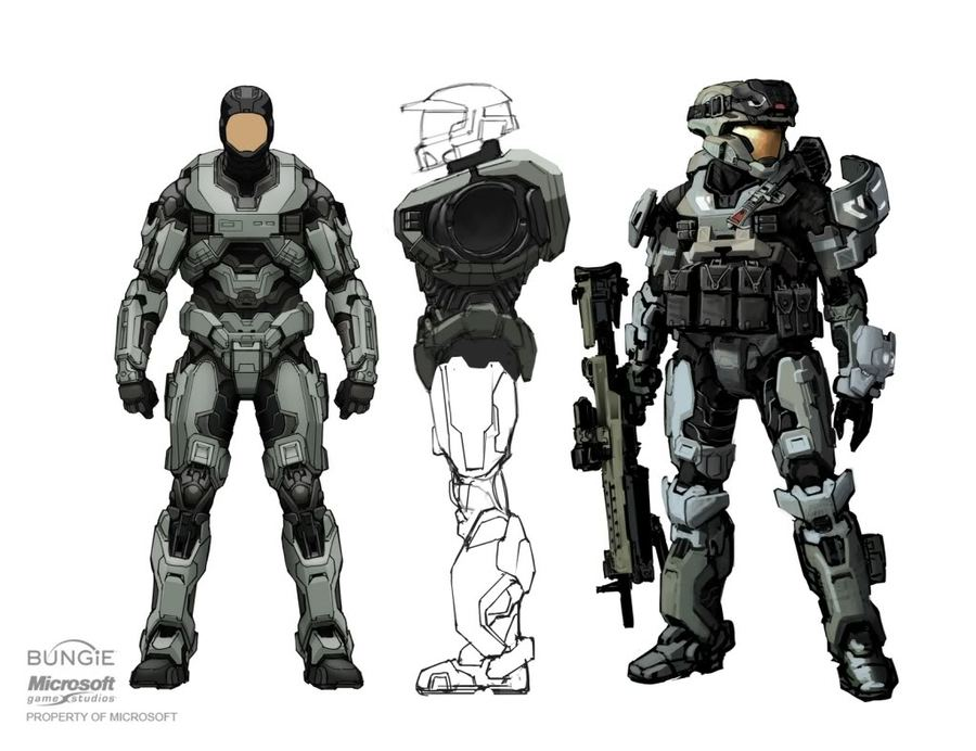 Download Halo Spartan 3 Armor Clipart Halo Reach Halo 3 Odst