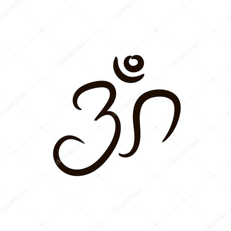 Download Om Clipart Om Symbol Religionillustrationtextfontline