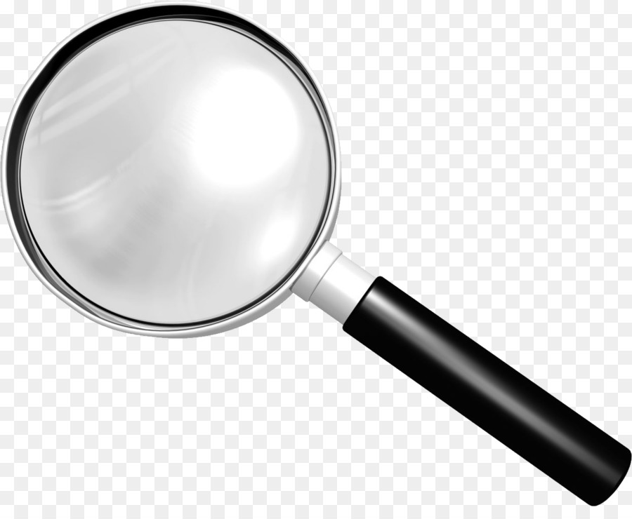 Magnifying glass translucent PNG Picture.