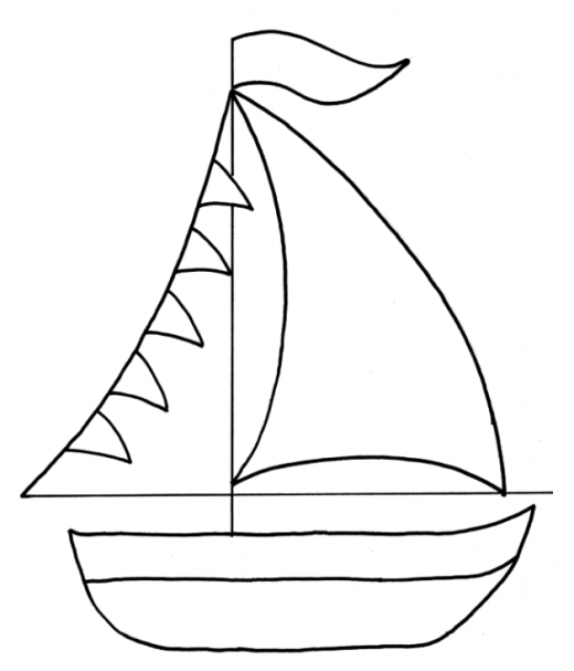 photograph about Boat Template Printable identify Send Cartoon clipart - Sailboat, Boat, Behavior, clear