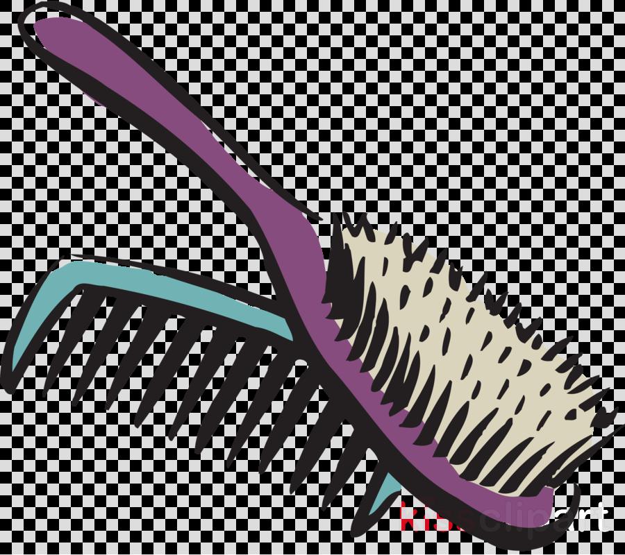 Comb clipart Comb Scissors Hair