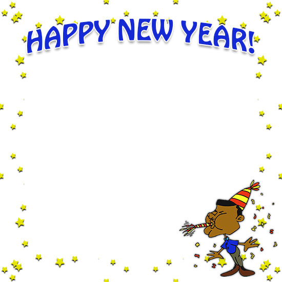 new years day border clipart new years day clip art
