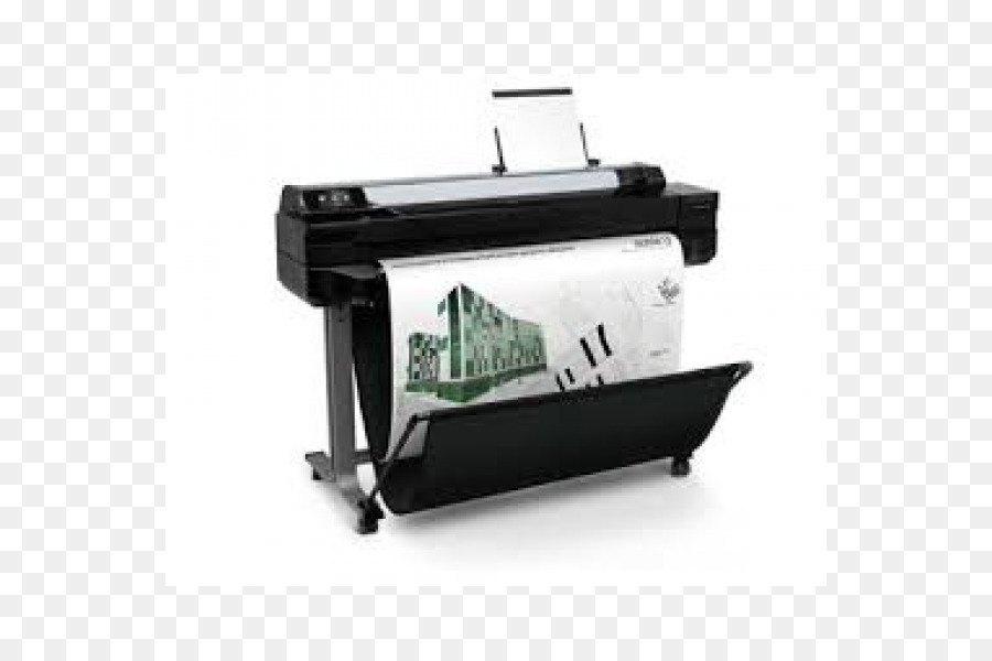 Download Hp Designjet T520 Eprinter Clipart Hewlett Packard