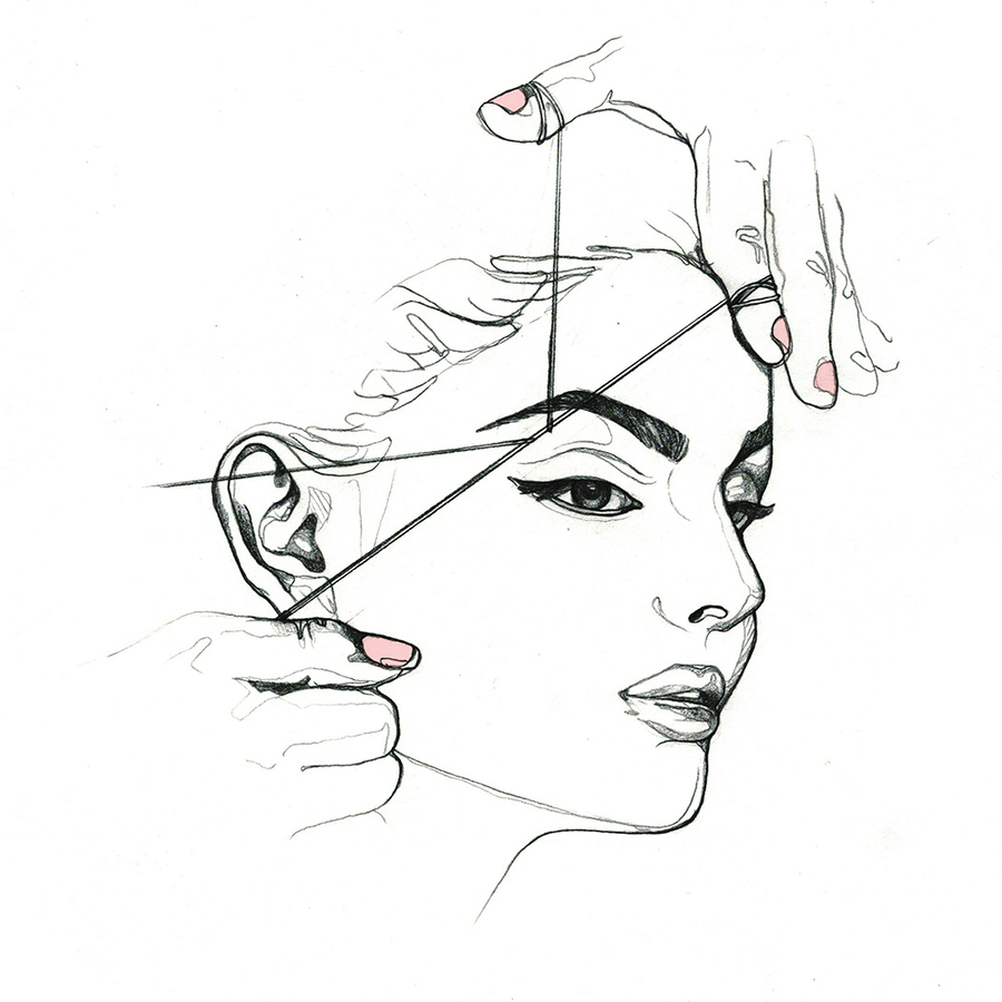 Download Clipart Threading Eyebrow