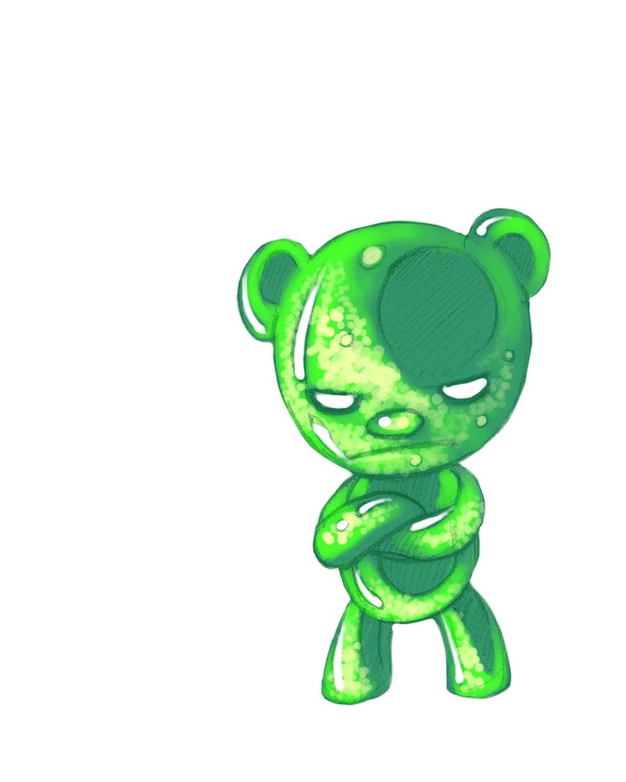 download angry gummy bear clipart gummy bear gummy candy clip art