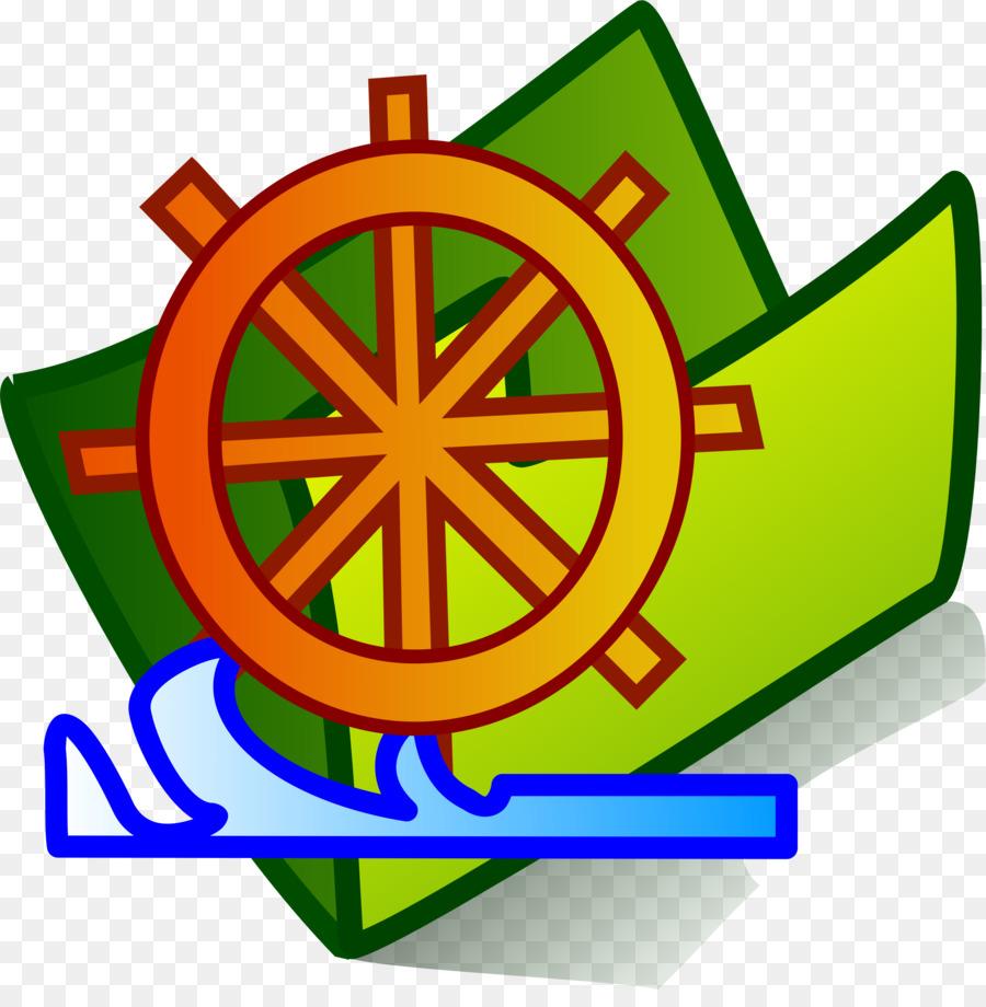 Ship Steering Wheel Background
