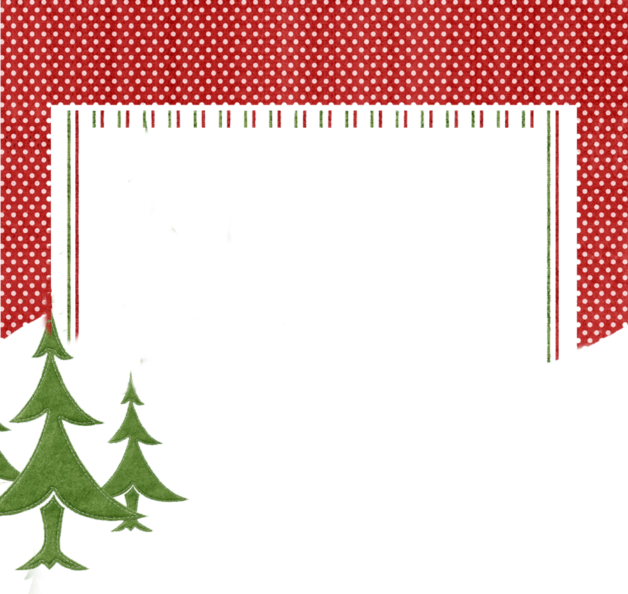 Christmas Card Border.Christmas Card Border Clipart Illustration Pattern Red