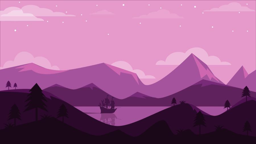 minimalist landscapes for desktop background clipart Desktop Wallpaper 4K resolution Landscape
