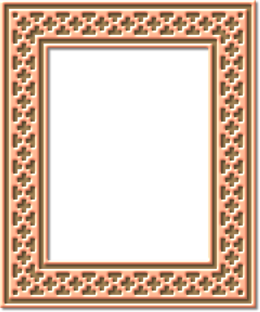Circle Background Frame