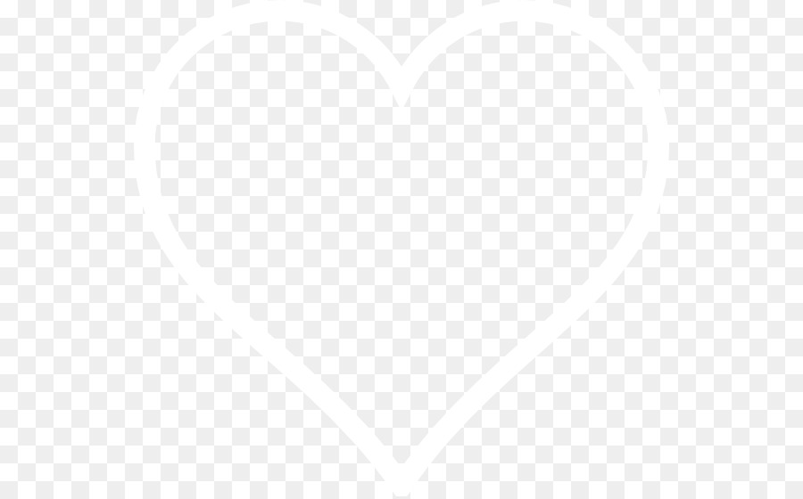 white heart png clipart White Angle Heart