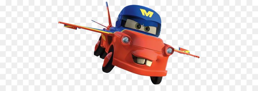 fototapeta jednodílná - cars letadla v akci clipart Mater Lightning McQueen Cars