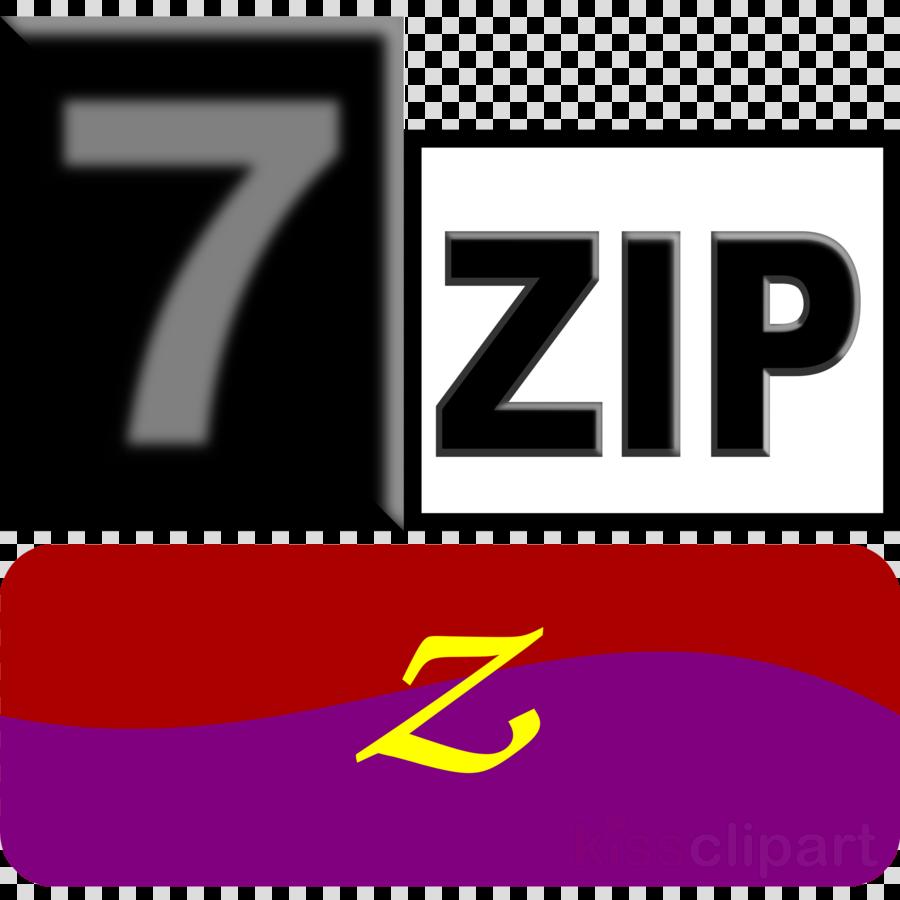 7-Zip clipart Logo Brand 7-Zip