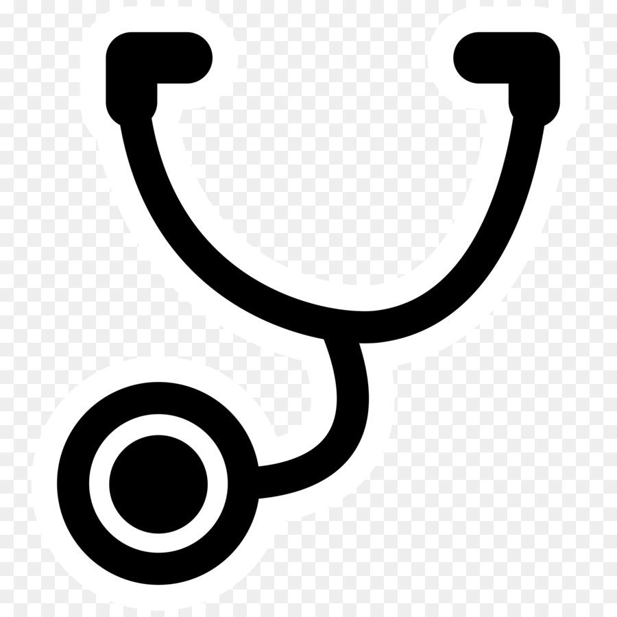 Stethoscope doctor. Symbol clipart medicine heart