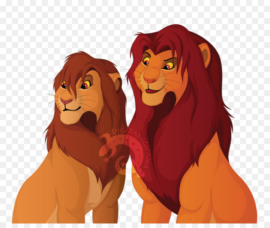 Lion clipart Lion Simba Nala