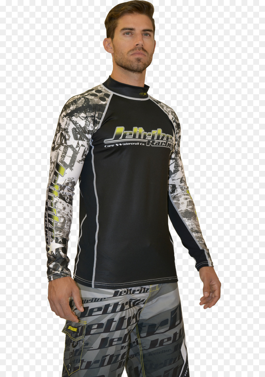 Green clipart Rash guard Green Clothing