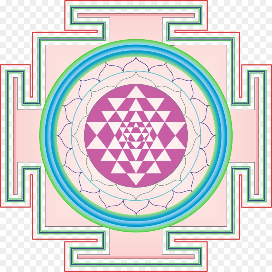 Mandala, Pink, Line, transparent png image & clipart free download