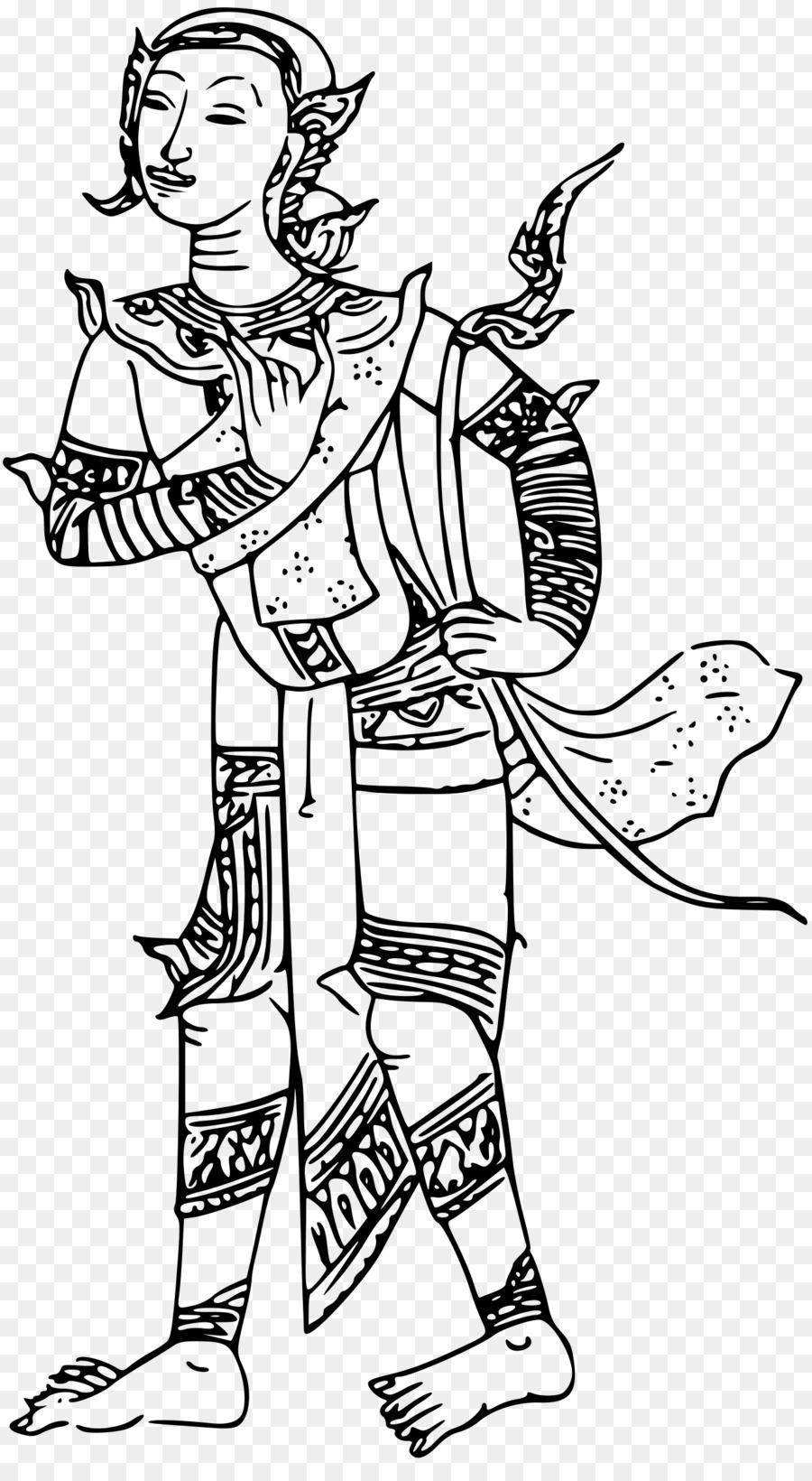 Ganesha Line Drawing