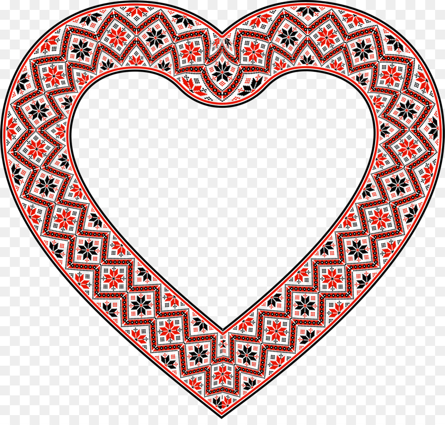 Download ornate heart png clipart Picture Frames Clip art | Heart ...