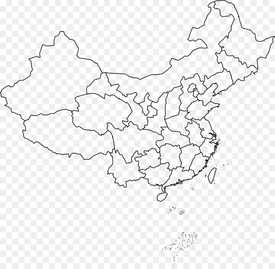 China Map Line Drawing Best Map Collection