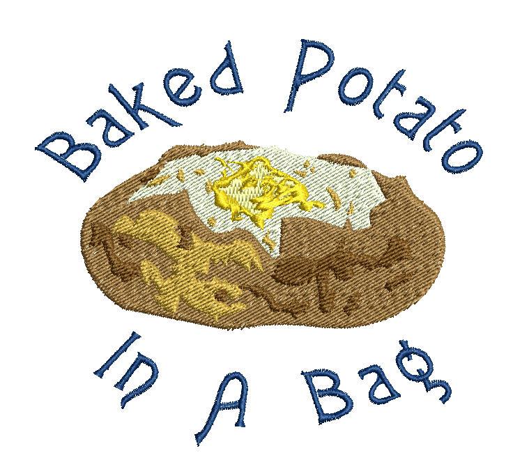 Download Microwave Potato Bag Instructions Clipart Baked Potato
