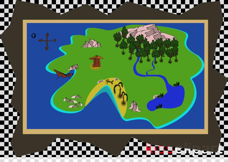 clip art map island clipart Treasure Island Map Clip art