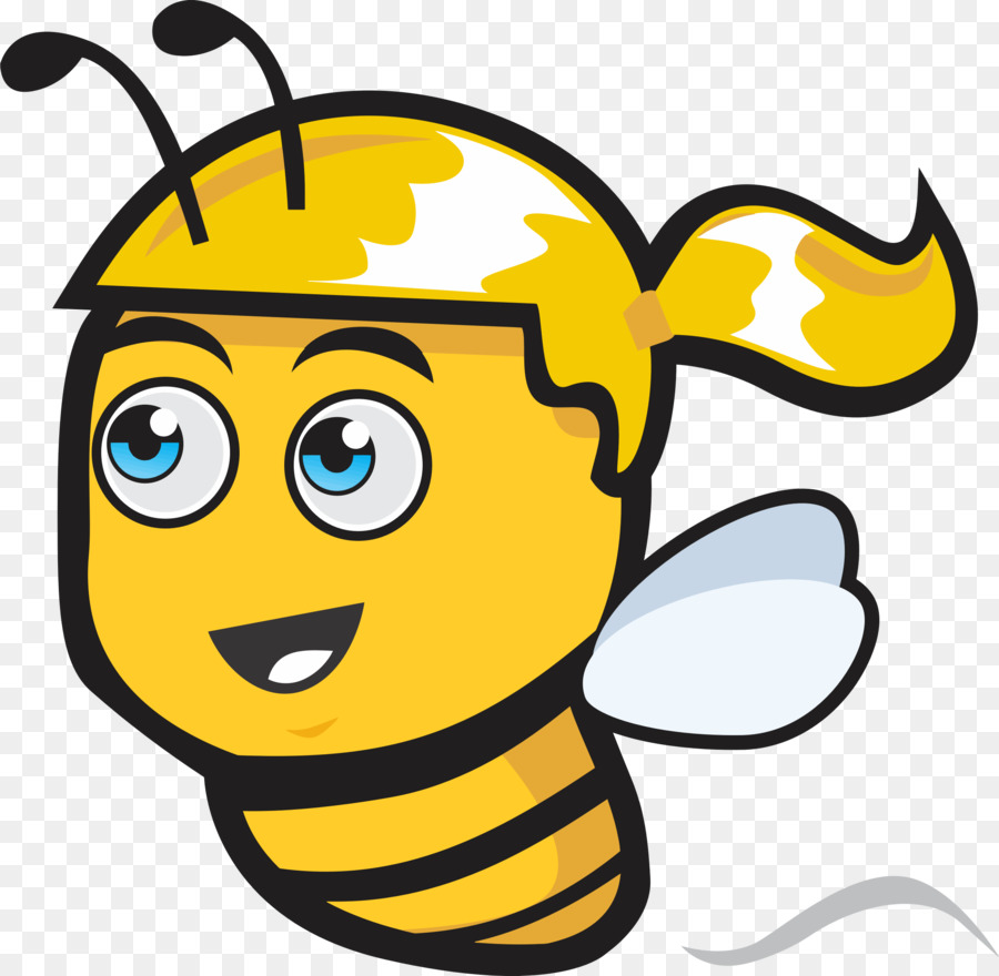 female bee cartoon clipart Western honey bee Clip art